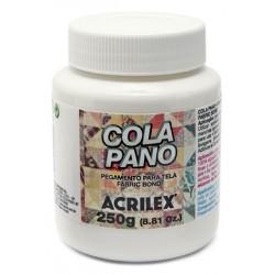 PEGAMENTO PARA TELA (COLA PANO) ACRILEX TARRO 250GR.