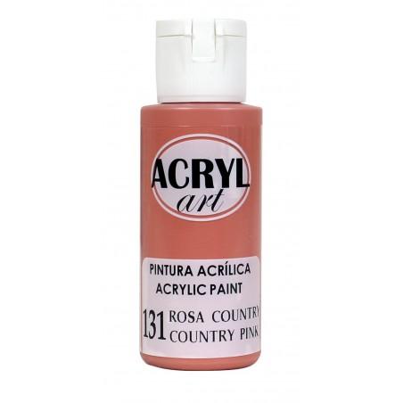 PINTURA ACRÍLICA ACRYL-ART 60ML. N131 ROSA CAUNTRY