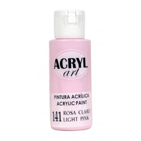 PINTURA ACRÍLICA ACRYL-ART 60ML. N141 ROSA CLARO