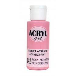 PINTURA ACRÍLICA ACRYL-ART 60ML. N142 ROSA PRINCESA