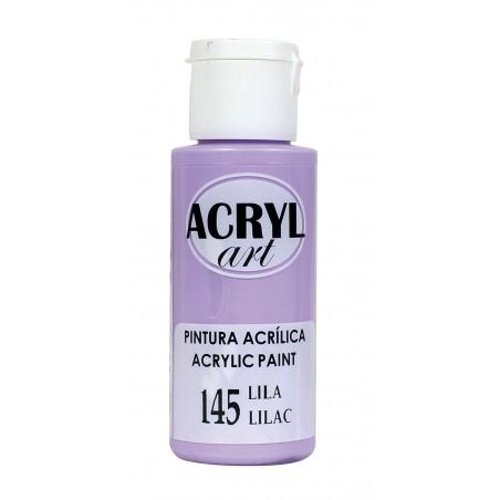 PINTURA ACRÍLICA ACRYL-ART 60ML. N145 LILA