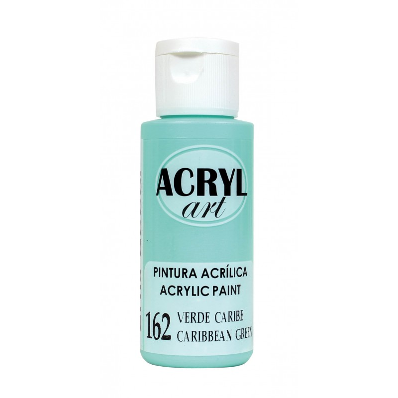 PINTURA ACRÍLICA ACRYL-ART 60ML. N162 VERDE CARIBE