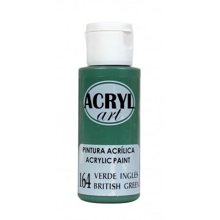 PINTURA ACRÍLICA ACRYL-ART 60ML. N164 VERDE INGLES