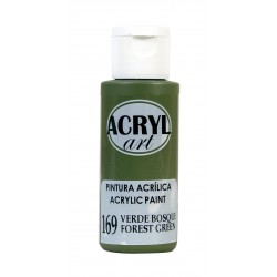 PINTURA ACRÍLICA ACRYL-ART 60ML. N169 VERDE BOSQUE