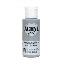 PINTURA ACRÍLICA ACRYL-ART 60ML. N171 GRIS CENIZA