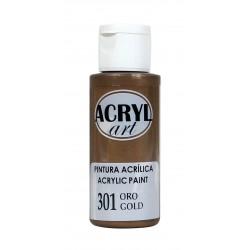 PINTURA ACRÍLICA ACRYL-ART 60ML. N301 ORO VIEJO
