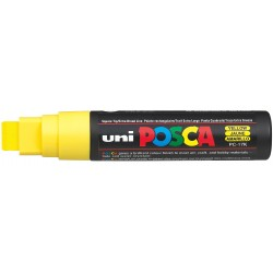 PC-17K UNI POSCA ROTULADOR EXTRA ANCHO AMARILLO (15mm)