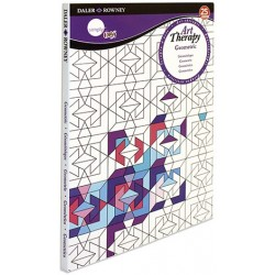 ART THERAPY GEOMETRIC A5 25HOJAS.