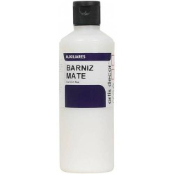 BARNIZ MATE ARTIS DECOR 250ML.