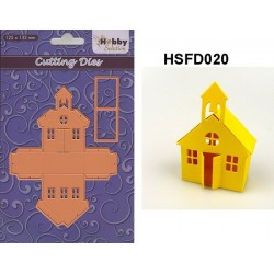 "HSFD020 CORTADOR SCRAP ""School"" 125x132mm"