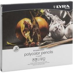 LYRA REMBRANDT POLYCOLOR (Est. metal 24 colores)