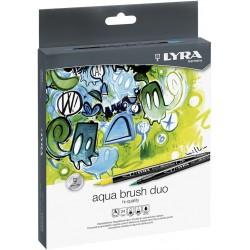 LYRA AQUA BRUSH DUO (Caja 24 colores)