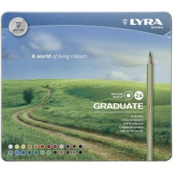 LYRA GRADUATE (Est. metal 24 colores)