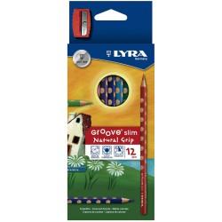 LYRA GROOVE SLIM  (Caja 12 colores)