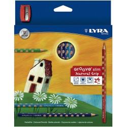 LYRA GROOVE SLIM  (Caja 24 colores)