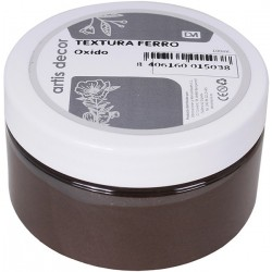OXIDO PASTA TEXTURA FERRO ARTIS DECOR 100ML.