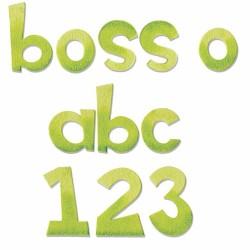 "SIZZIX CORTADOR BIGZ XL ""alphabet boss-O"""