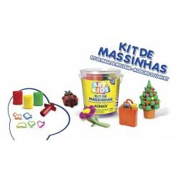 ART KIDS KIT DE PLASTILINA ACRILEX Nº 1  150GR. (40001)