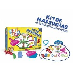 ART KIDS KIT DE PLASTILINA ACRILEX Nº 5  450GR. (40005)