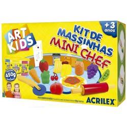 """ART KIDS KIT DE PLASTILINA ACRILEX """"Mini chef"""". (40008)"""