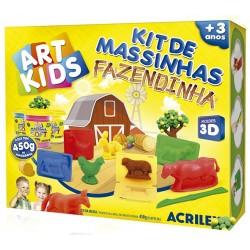 "ART KIDS KIT DE PLASTILINA ACRILEX ""Granja"". (40009)"