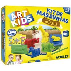"ART KIDS KIT DE PLASTILINA ACRILEX ""Zoo"". (40010)"
