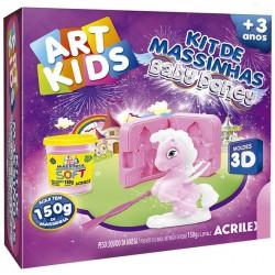 "ART KIDS KIT DE PLASTILINA ACRILEX ""Baby pony rosa"" (40043)"