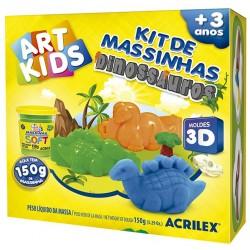 "ART KIDS KIT DE PLASTILINA ACRILEX ""Dinosaurios"" (40047)"