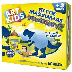 "ART KIDS KIT DE PLASTILINA ACRILEX ""Dinosaurio azul"" (40050)"