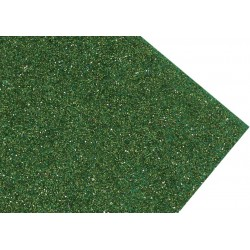 GOMA EVA SUPER GLITTER 60X40 2MM VERDE VIVO