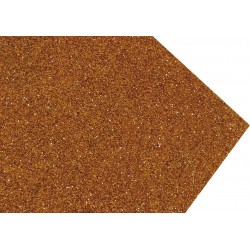 GOMA EVA SUPER GLITTER 60X40 2MM ORO DUCADO