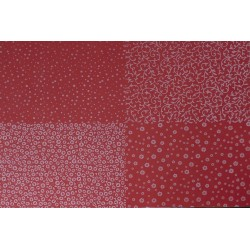 GOMA EVA FLOCKING DESIGN Nº1 60X40 2MM ROJO-BLANCO