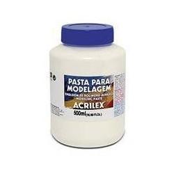 PASTA MODELAGEM (EMULSIÓN DE POLIMERO ACRILICO) ACRILEX 500ML.