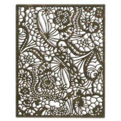 "SIZZIX CORTADOR ""Intricate Lace by Tim Holtz"""