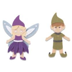 """SIZZIX CORTADOR BIGZ L """"Elf and Fairy''"""
