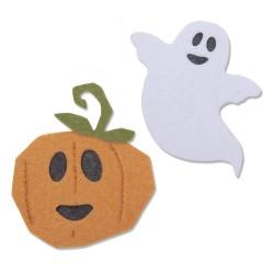 "SIZZIX CORTADOR BIGZ ""Happy Halloween by Laura Kate ''"