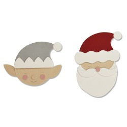 "SIZZIX CORTADOR BIGZ ""Santa & Elf by Olivia Rose''"