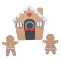 "SIZZIX CORTADOR BIGZ PLUS ""Gingerbread House by Jennifer Ogborn''"