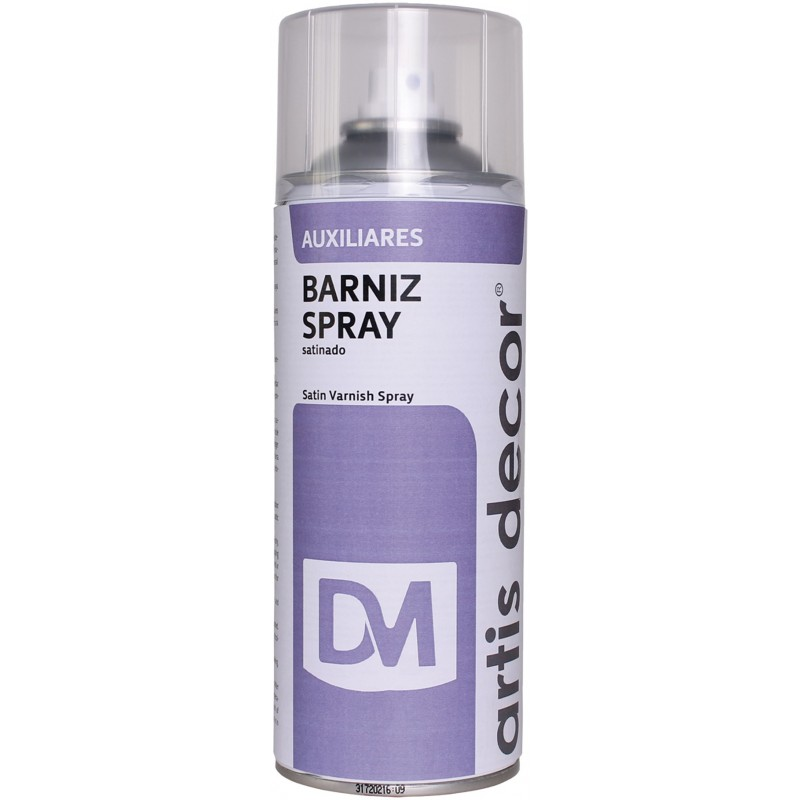 BARNIZ SPRAY SATIN ARTIS-DECOR 400ML.