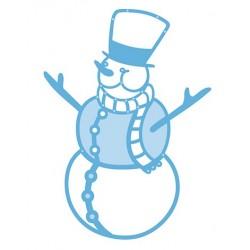 1376E CORTADOR ROCOCO JOYFUL SNOWMAN