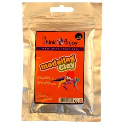 PASTA MODELAR THINK & ENJOY 25GR.NARANJA