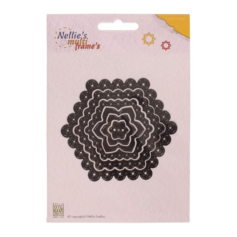 CORTADOR DOTS HEXAGON