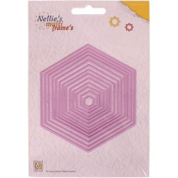 CORTADOR STRAIGHT HEXAGON NELLIE SNELLEN""""