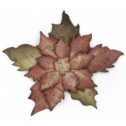 "SIZZIX CORTADOR BIGZ ""Tattered Poinsettia by Tim Holtz"""