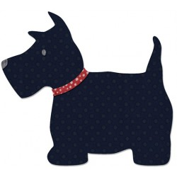 "SIZZIX CORTADOR BIGZ -L ""Scottie Dog by E.L. Smith"""