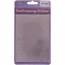 CARPETA EMBOSSING RECTANGLE FRAME-1