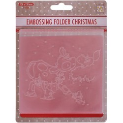 CARPETA EMBOSSING SQUIRREL