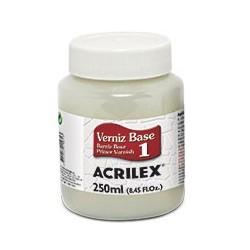 CRAQUELEX PASO 1 (BARNIZ BASE) ACRILEX 250ML. Nº901