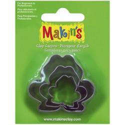 MAKIN'S SET 3 CORTADORES RANAS