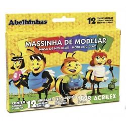 PLASTILINA ACRILEX 12...